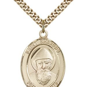 St. Sharbel Medal - 82604 Saint Medal