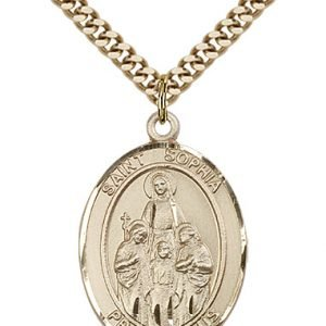 St. Sophia Medal - 82280 Saint Medal