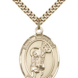 St. Stephanie Medal - 82517 Saint Medal