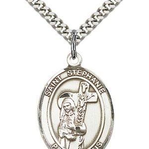 St. Stephanie Medal - 82519 Saint Medal