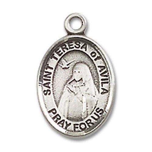St. Teresa of Avila Charm - Sterling Silver (#M0026)