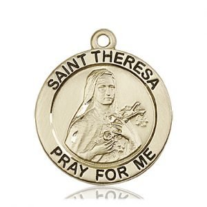 St. Theresa Medal - 81765 Saint Medal