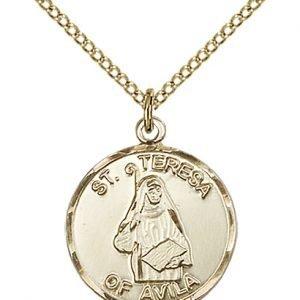 St. Theresa Medal - 81706 Saint Medal