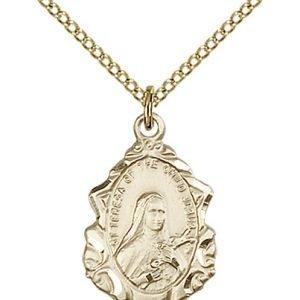 St. Theresa Medal - 83100 Saint Medal