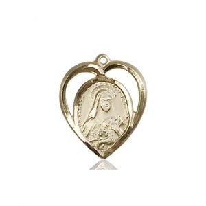 St. Theresa Pendant - 83215 Saint Medal