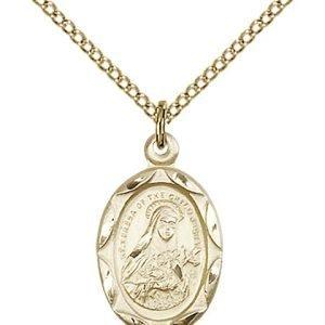 St. Theresa Pendant - 83057 Saint Medal