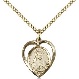 St. Theresa Pendant - 83214 Saint Medal
