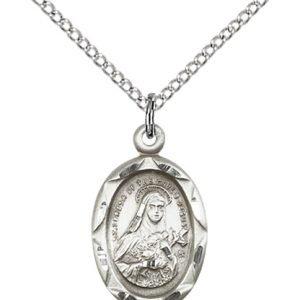 St. Theresa Pendant - 83059 Saint Medal