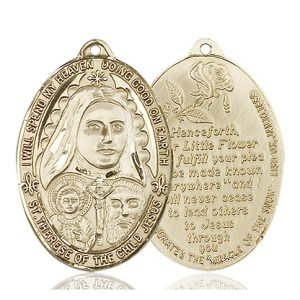 St. Therese Medal - 81799 Saint Medal