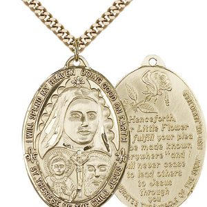 St. Therese Medal - 81798 Saint Medal