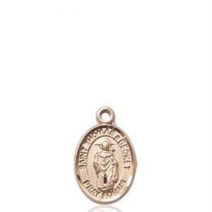 St. Thomas A Becket Charm - 14 KT Gold (#85359)
