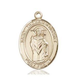 St. Thomas A Becket Medal - 82800 Saint Medal