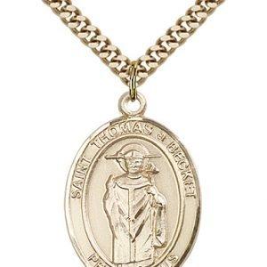 St. Thomas A Becket Medal - 82799 Saint Medal