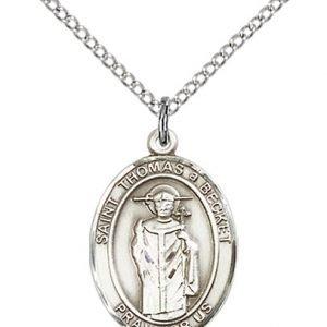 St. Thomas A Becket Medal - 84173 Saint Medal
