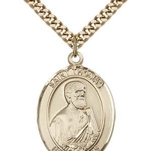 St. Thomas the Apostle Medal - 82208 Saint Medal