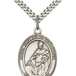 St. Thomas of Villanova Medal - 82687 Saint Medal