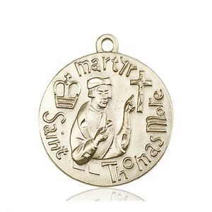 St. Thomas More Medal - 81677 Saint Medal