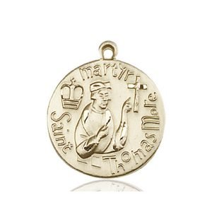 St. Thomas More Medal - 81680 Saint Medal
