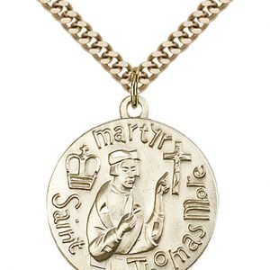 St. Thomas More Medal - 81676 Saint Medal