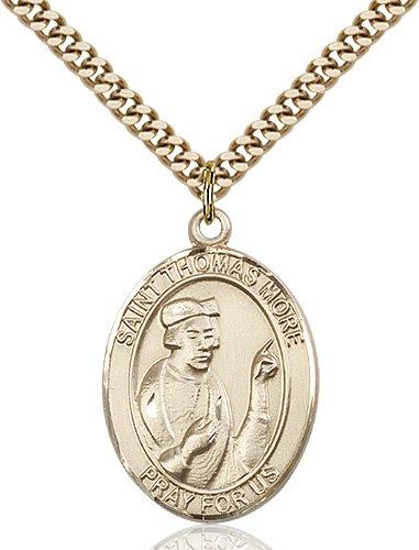 St. Thomas More Medal - 82214 Saint Medal