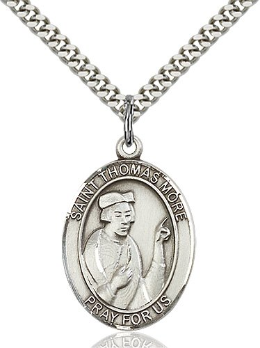 St. Thomas More Medal - 82216 Saint Medal