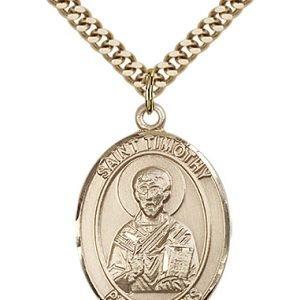 St. Timothy Medal - 82202 Saint Medal