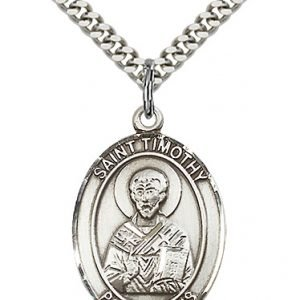 St. Timothy Medal - 82204 Saint Medal