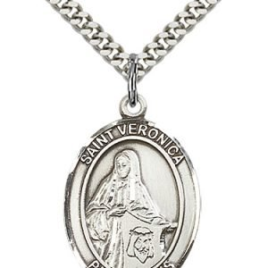 St. Veronica Medal - 82219 Saint Medal