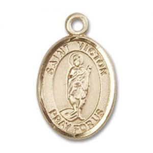 St. Victor of Marseilles Charm - 85063 Saint Medal