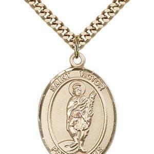 St. Victor of Marseilles Medal - 82502 Saint Medal