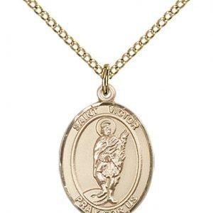St. Victor of Marseilles Medal - 83874 Saint Medal