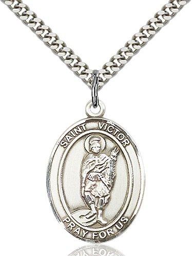 St. Victor of Marseilles Medal - 82504 Saint Medal