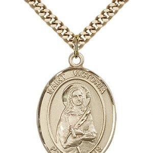 St. Victoria Medal - 82559 Saint Medal