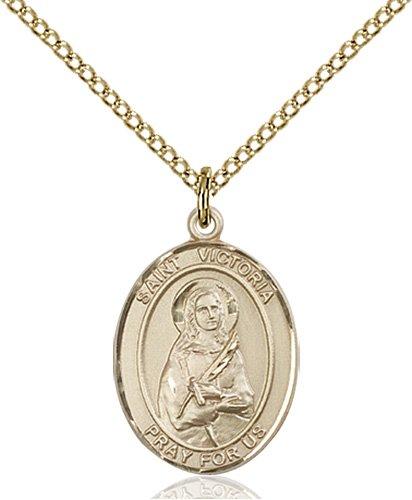 St. Victoria Medal - 83931 Saint Medal