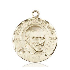 St. Vincent De Paul Medal - 81638 Saint Medal