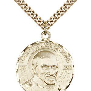 St. Vincent De Paul Medal - 81637 Saint Medal
