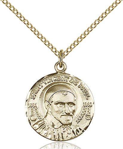 St. Vincent De Paul Medal - 81691 Saint Medal