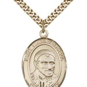 St. Vincent De Paul Medal - 82274 Saint Medal