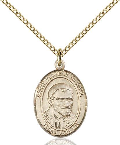 St. Vincent De Paul Medal - 83640 Saint Medal