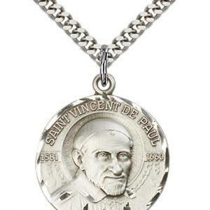 St. Vincent De Paul Medal - 81639 Saint Medal
