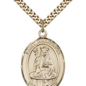 St. Walburga Medal - 82256 Saint Medal