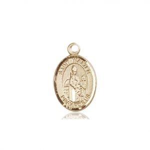 St. Walter of Pontnoise Charm - 85207 Saint Medal