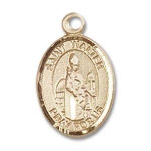 St. Walter of Pontnoise Charm - 85206 Saint Medal