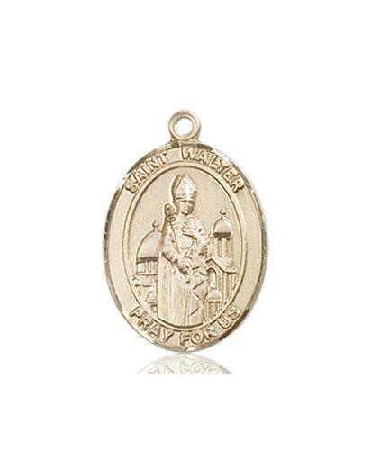 St. Walter of Pontnoise Medal - 84019 Saint Medal