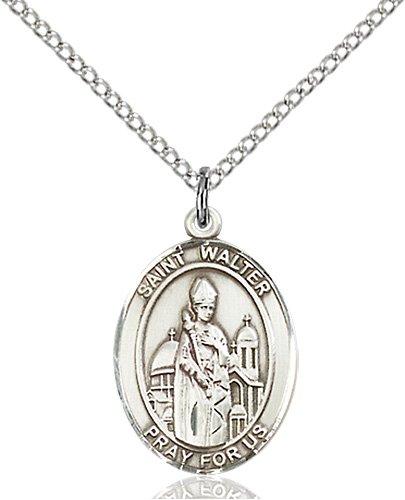St. Walter of Pontnoise Medal - 84020 Saint Medal