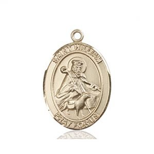 St. William of Rochester Medal - 83596 Saint Medal