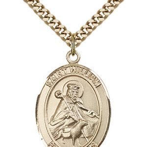 St. William of Rochester Medal - 82229 Saint Medal