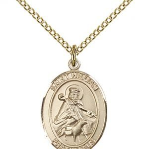 St. William of Rochester Medal - 83595 Saint Medal
