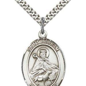 St. William of Rochester Medal - 82231 Saint Medal