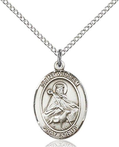 St. William of Rochester Medal - 83597 Saint Medal